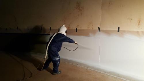 Spraying Tank Liner